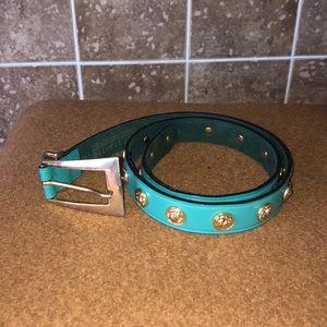 Green belt | the limited | leather belt